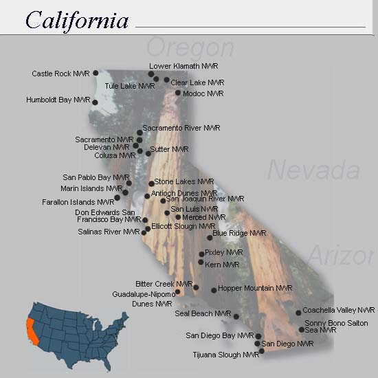 California Refuges